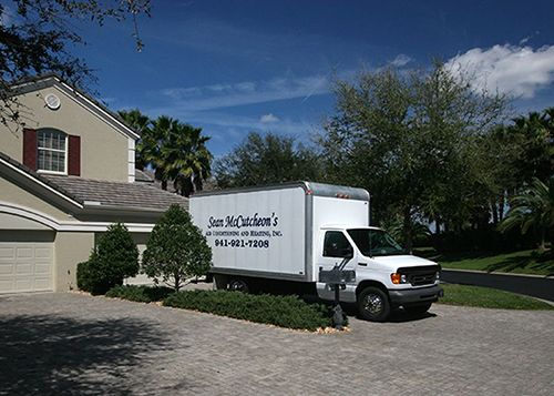Sean McCutcheon's Air Conditioning truck - Sarasota
